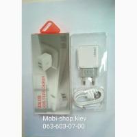 Сетевое зарядное устройство LDNIO A2201 2xUSB 2. 4A + кабель micro USB