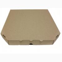 Коробка для пиццы бурая 250х250х30 мм