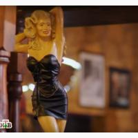 Статуэтка барышня в бикини аксессуар интерьера сауна бассейн ресторан