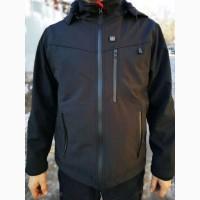 Куртка осень-весна с электроподогревом Rarog electric heating waterproof jacket