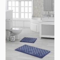 Набор ковриков для ванной Marie Claire Lodi lacivert 57×57 57×100