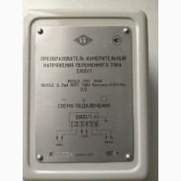 Преобразователь измерительный напряжения переменного тока Е800 1