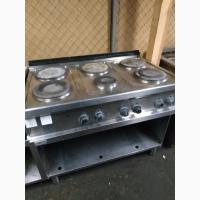 Плита электрическая zanussi mcy/e3 проф б/у для кафе ресторана бара столовой пиццерии