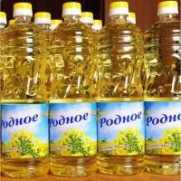Купить оптом растительное масло Украина. Подсолнечное. Рапсовое