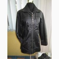 Фирменная женская кожаная куртка JOY. Англия. Лот 991