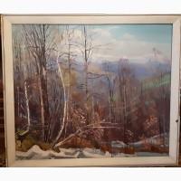 Пейзаж полотно олія розмір 90/80 Народний художник Украіни И Шутев