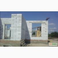 Строительство Домов, кирпичьная кладка, ( коробка дома) кладка пенобетон