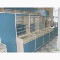 Мебель для аптек и магазинов.