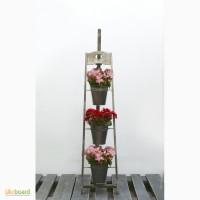 Деревянная подставка под цветы мольберт (chevalet)