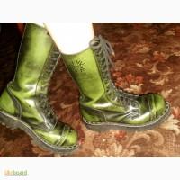 Продам кожаные ботинки STEEL