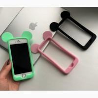 Силиконовый бампер «Микки Маус» на iPhone 5/5S