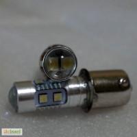 Авто лампа светодиодная P21, BA15S, 1156, P21W задний ход, габарит, повороты