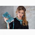 Колье ожерелье и серьги с бирюзой Киев Одесса Днепр Харьков Львов Запорожье