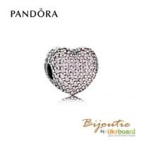 Оригинал PANDORA Шарм-клипса 8213; открой свое сердце 791427PCZ