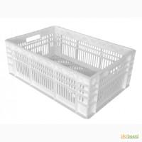 Пищевой пластиковый ящик 600х400х220