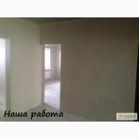Шпаклевка стен под обои.В Киеве
