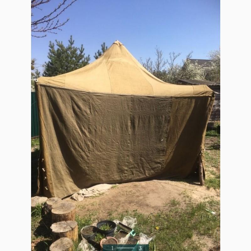 Фото 13. Палатка брезентовая