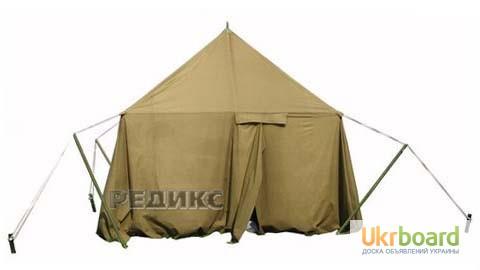 Фото 2. Палатка брезентовая