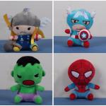 Мягкие игрушки Марвел из плюша