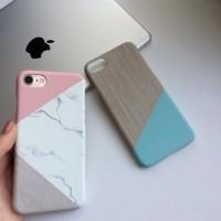 Чехол с дизайном под мрамор для iPhone 7, 7 plus