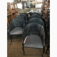 Кресла из натурального ротанга б/у для летних терас