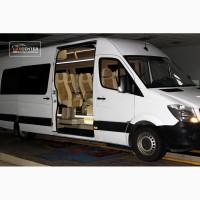 Переоборудование микроавтобуса Mercedes-Benz Sprinter в кофортабельный пассажирский