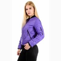 Весенние куртки- бомберы, цвета разные, размеры 42-48