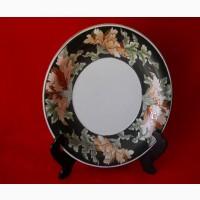 Большое старинное Китайское керамическое блюдо