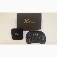 ТВ приставка X96 mini, X96W 2/16Gb МЕГА ПРОШИВКА на 1200 каналов+видео