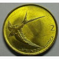 Словения 2 толара 2000 год ОТЛИЧНАЯ
