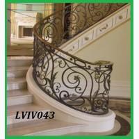 Кованые перила для крыльца, поручни металлические, перила для лестницы