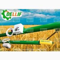 Шнековый транспортер зерна (погрузчик) - Деллиф (6 м)