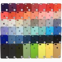 Силикон кейс IPhone 5s Apple айфон Silicone case чехол Силиконовый чехол Apple новых цвет