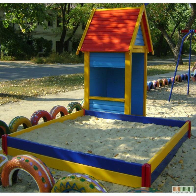 Песочница своими руками детского сада