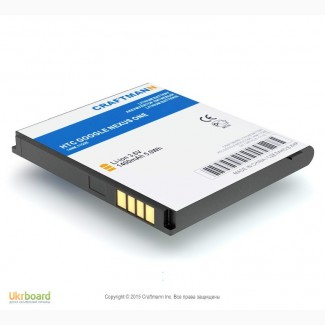 BB99100 аккумулятор Craftmann HTC Google Nexus One, Bravo, Dragon, G5 Smart, A8181 Desire