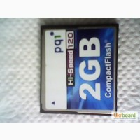 Карта памяти CompactFlash 2GB HI-Speed 120 pq1