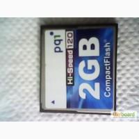 Карта памяти CompactFlash 2GB HI-Speed 120 pq1
