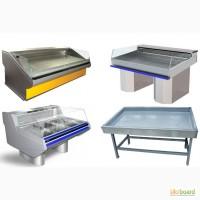 Морозильные витрины/прилавки рыба-на-льду и мясные холодильные