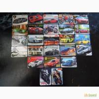 Коллеционные календарики.Транспорт.(25 шт) 2011г