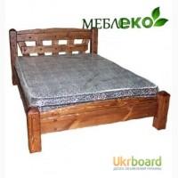Кровать под старину из дерева, Кровать Добряк