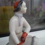Статуэтка фигуристки.Фарфор советского периода