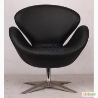 Кресло Swan (СВ) кожзам, дизайнерское кресло Лебедь кожзам купить Киев Украина
