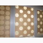 Рулонные шторы, тканевые ролеты день - ночь