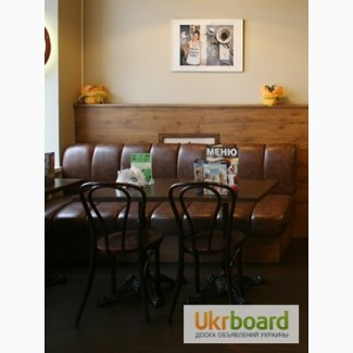Продам кожаные диваны бу для ресторана кафе бара паба. Бу диваны для общепита