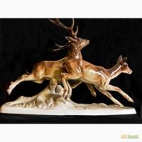 Продам статуэтку «Бегущие олени» (Австрия, 50х годов)