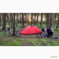 Палатка HANNAH Covert 3 Thyme/mandarin red