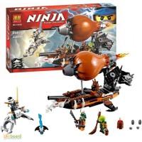Конструктор Ninja Командный дирижабль 294 детали. BELA 10448