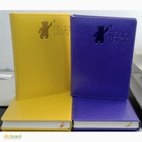 Щоденники, ділові папки, папки меню, папки для рахунків виготовлення у своїй майстерні