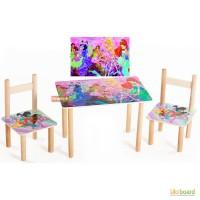 Детский набор столик и стульчики Винкс