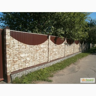 Забор из профнастила. Куплю забор. Цена